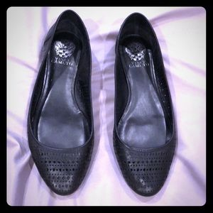 Vince Camino black flats in size 9